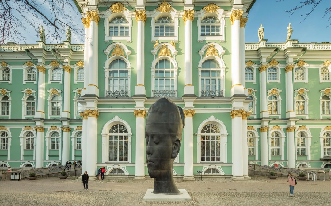 Jaume Plensa at The State Hermitage Museum