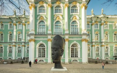 Jaume Plensa at The State Hermitage Museum, Saint Petersburg