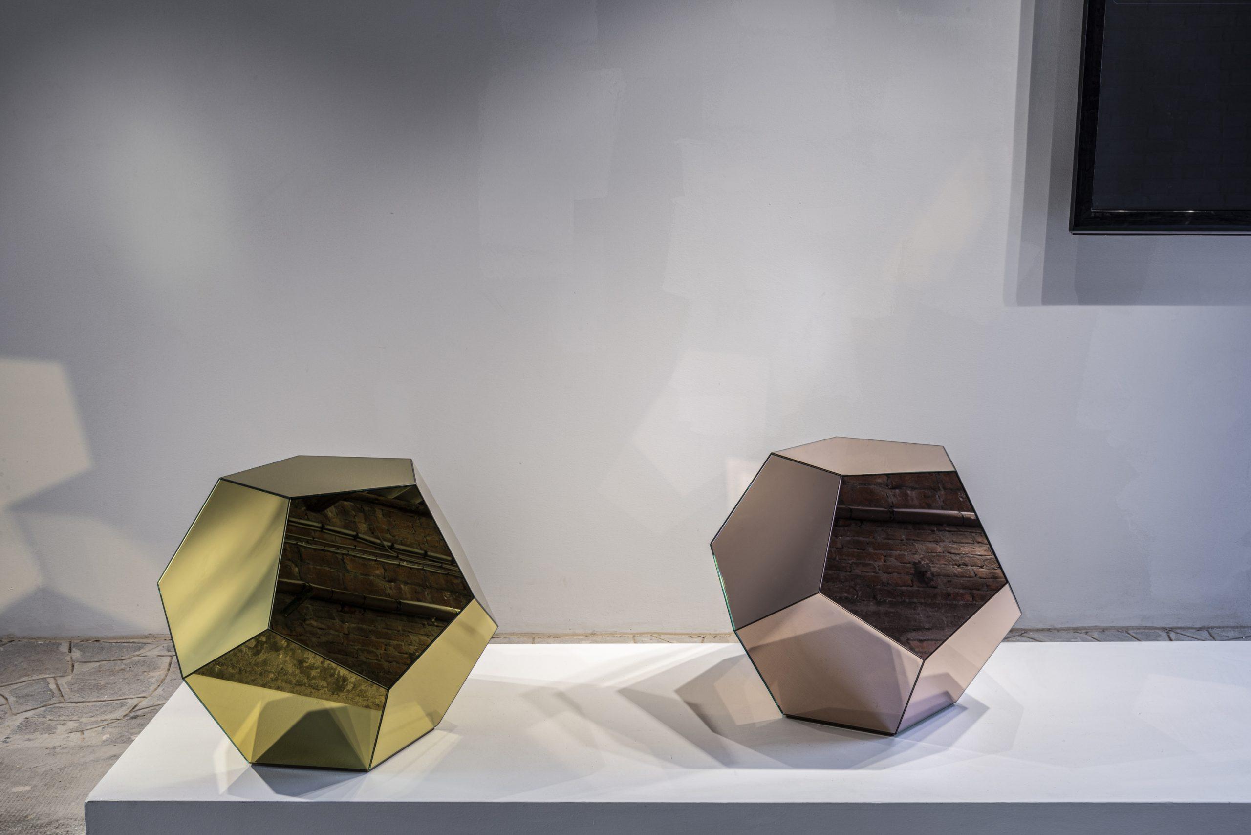 Krista Kim's Mars Polyhedron at Fondazione Berengo Art Space, Murano